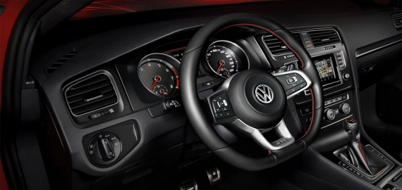 Рулевое управление с прогрессивной характеристикой Volkswagen Golf