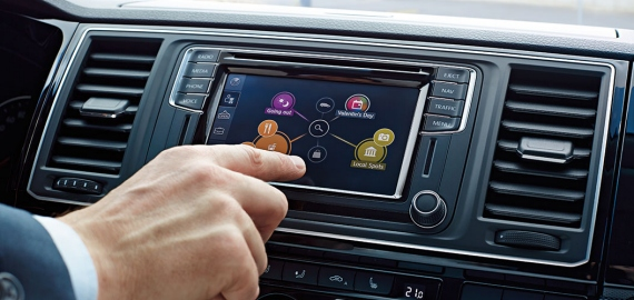 Car-Net AppConnect. Volkswagen Transporter