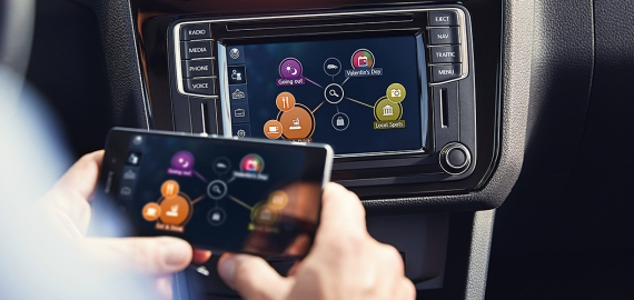 Car-Net App-Connect Volkswagen Caddy фото 5