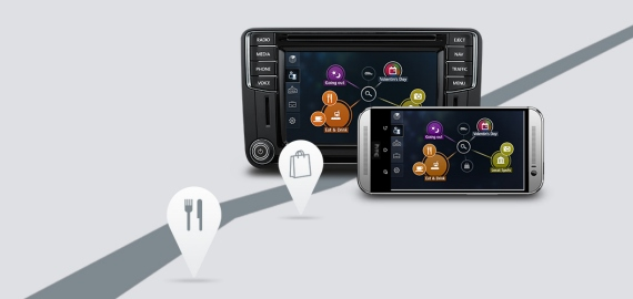 Car-Net App-Connect Volkswagen Caddy фото 3