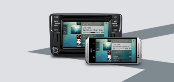 Car-Net App-Connect Volkswagen Caddy фото 4