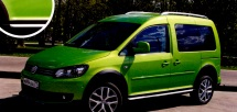 Volkswagen Cross Caddy 4Motion: един в трех ипостасях