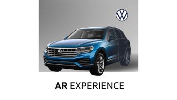Испытайте Volkswagen Touareg в дополненной реальности